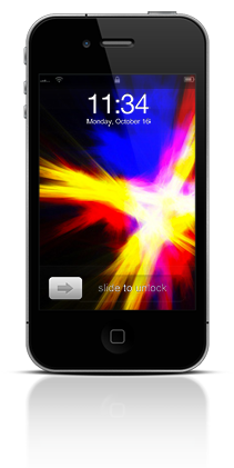 Abstract Fire 001 Apple iPhone 4 thumbnail