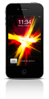 Abstract Fire 002 Apple iPhone 4 thumbnail