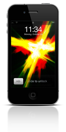 Abstract Fire 003 Apple iPhone 4 thumbnail