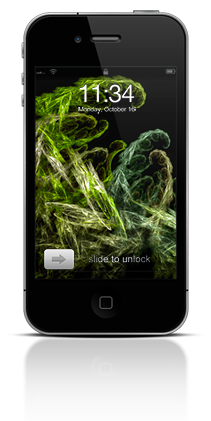 Abstract Fractals 001 Apple iPhone 4 thumbnail
