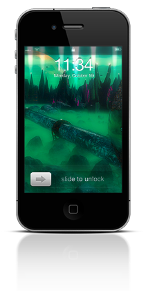Alien Mastermind 001 Apple iPhone 4 thumbnail