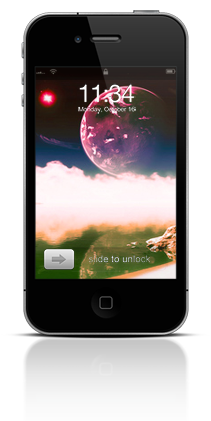 Aqua Moon 003 Apple iPhone 4 thumbnail
