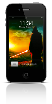 Awaiting The Jedi 002 Apple iPhone 4 thumbnail