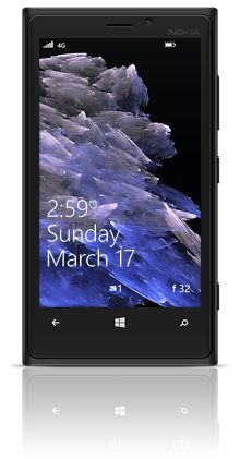 Abstract Diamonds 002 Nokia Lumia 920 BLACK thumbnail