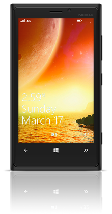Centauri Sunset 001 Nokia Lumia 920 BLACK thumbnail