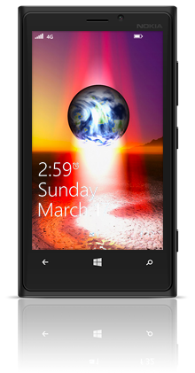 Earth Birth 001 Nokia Lumia 920 BLACK thumbnail