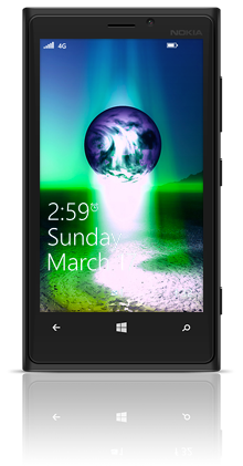 Earth Birth 002 Nokia Lumia 920 BLACK thumbnail