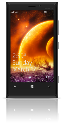 Magnificent Planets 002 Nokia Lumia 920 BLACK thumbnail