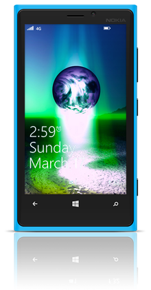Earth Birth 002 Nokia Lumia 920 BLUE thumbnail