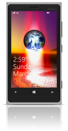Earth Birth 001 Nokia Lumia 920 GREY thumbnail