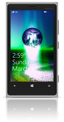 Earth Birth 002 Nokia Lumia 920 GREY thumbnail