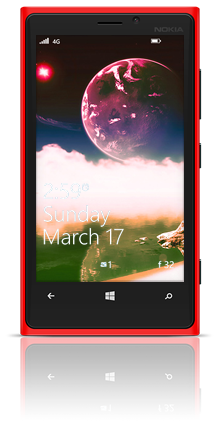 Aqua Moon 003 Nokia Lumia 920 RED thumbnail