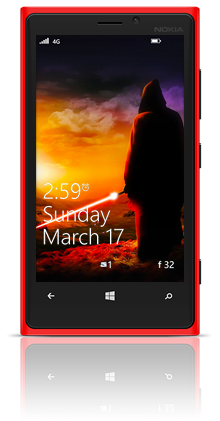 Awaiting The Jedi 001 Nokia Lumia 920 RED thumbnail