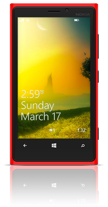 Mysterious Tower 003 Nokia Lumia 920 RED thumbnail