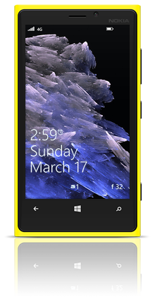 Abstract Diamonds 002 Nokia Lumia 920 YELLOW thumbnail