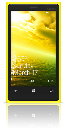 Alien Sea 003 Nokia Lumia 920 YELLOW thumbnail