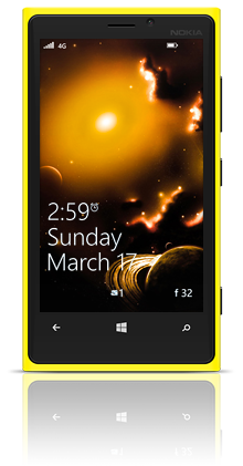Andromede Galaxy 003 Nokia Lumia 920 YELLOW thumbnail