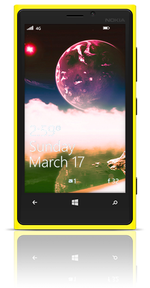 Aqua Moon 003 Nokia Lumia 920 YELLOW thumbnail