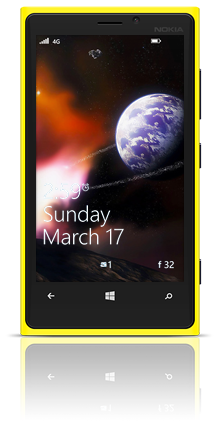 Asteroidia 001 Nokia Lumia 920 YELLOW thumbnail