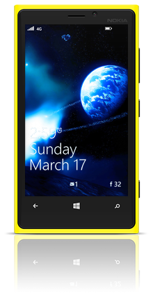 Asteroidia 002 Nokia Lumia 920 YELLOW thumbnail