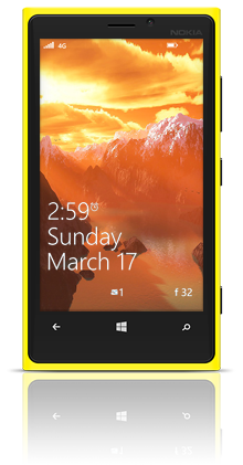 Before On Mars 001 Nokia Lumia 920 YELLOW thumbnail