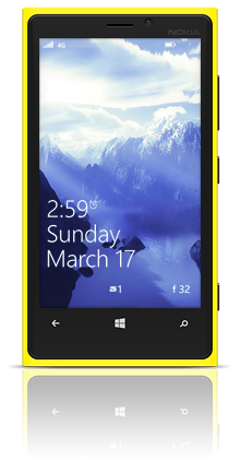 Before On Mars 002 Nokia Lumia 920 YELLOW thumbnail