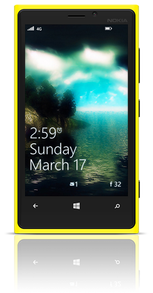 Dark Journey Nokia Lumia 920 YELLOW thumbnail