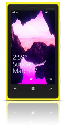 Dune Water 001 Nokia Lumia 920 YELLOW thumbnail