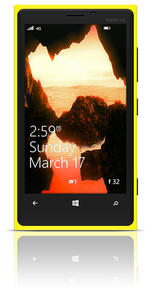 Dune Water 002 Nokia Lumia 920 YELLOW thumbnail