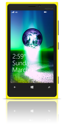 Earth Birth 002 Nokia Lumia 920 YELLOW thumbnail