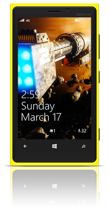 Exploring The Universe 001 Nokia Lumia 920 YELLOW thumbnail