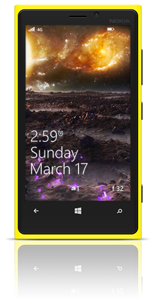 Far In The Universe 001 Nokia Lumia 920 YELLOW thumbnail
