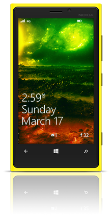 Far In The Universe 002 Nokia Lumia 920 YELLOW thumbnail