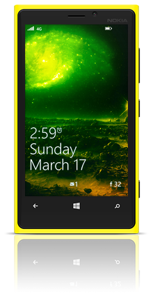 Far In The Universe 004 Nokia Lumia 920 YELLOW thumbnail