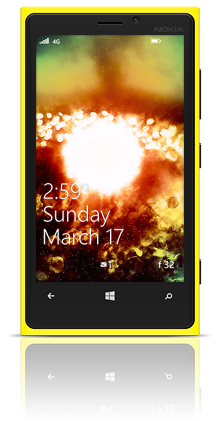 Gravity 002 Nokia Lumia 920 YELLOW thumbnail