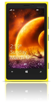 Magnificent Planets 002 Nokia Lumia 920 YELLOW thumbnail