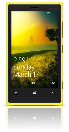 Mysterious Tower 001 Nokia Lumia 920 YELLOW thumbnail