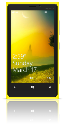 Mysterious Tower 003 Nokia Lumia 920 YELLOW thumbnail