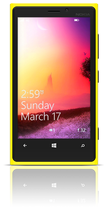 Mysterious Tower 004 Nokia Lumia 920 YELLOW thumbnail